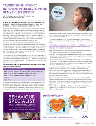 When to intervene in the development of my child's speech - by Kathryn Maroney and Tanya Curtis