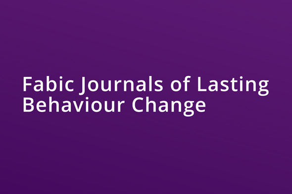 Fabic Journals of Lasting Behaviour Change