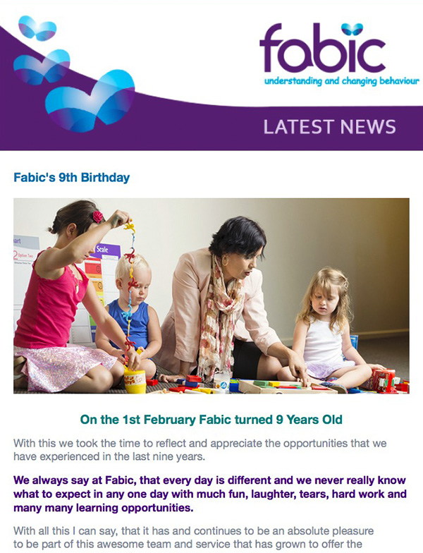 Fabic Newsletter Edition 11 - 4th February 2015