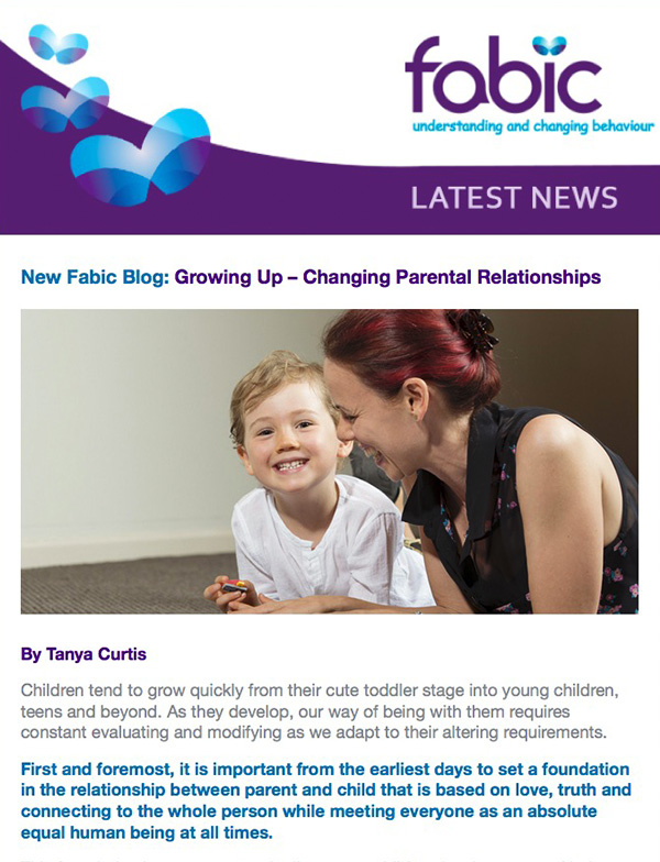 Fabic Newsletter Edition 13 - 14th April 2015