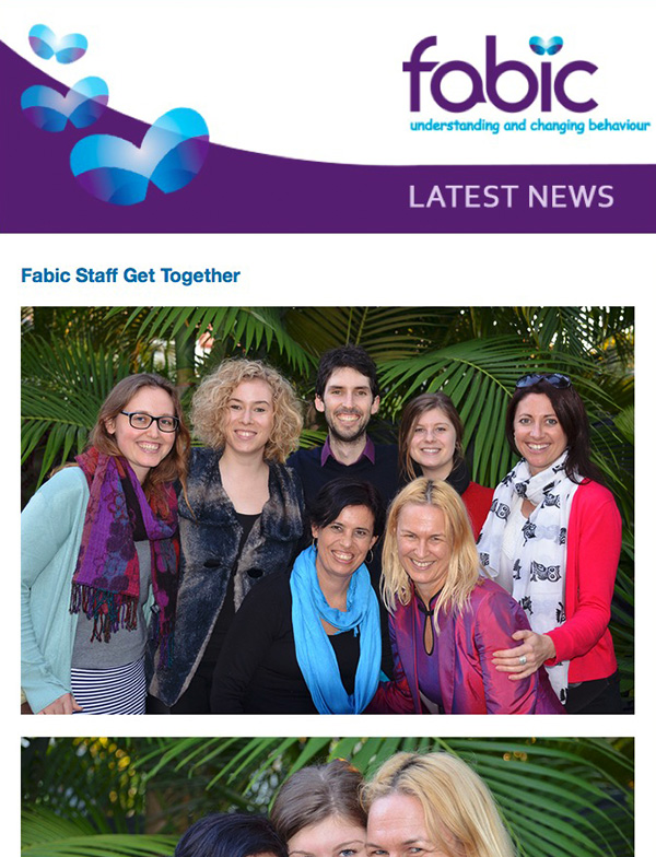 Fabic Newsletter Edition 16 - 11th June 2015