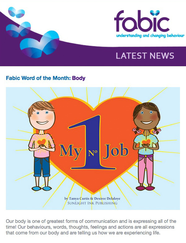 Fabic Newsletter Edition 19 - 30th July 2015