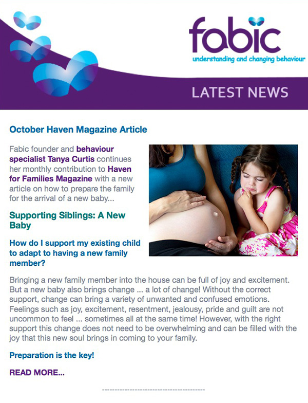 Fabic Newsletter Edition 4 - 8th October 2014