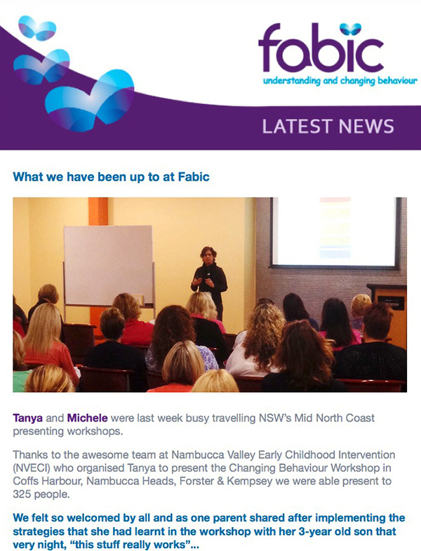 Fabic Newsletter Edition 5 - 29th October 2014