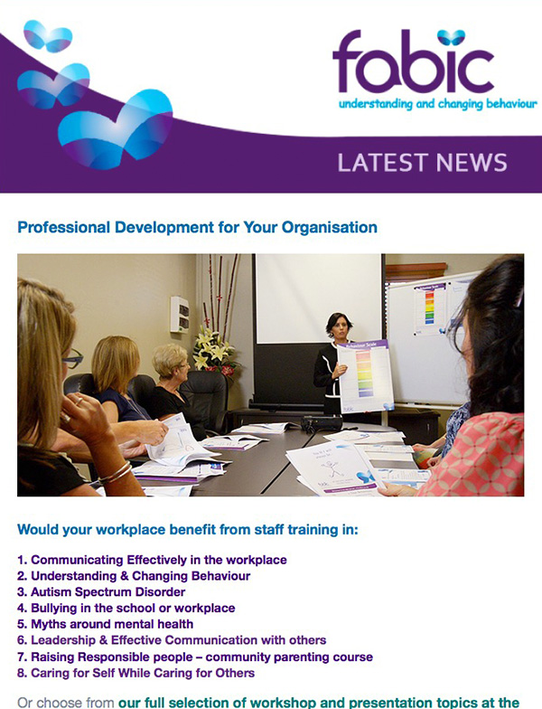 Fabic Newsletter Edition 7 - 19th November 2014